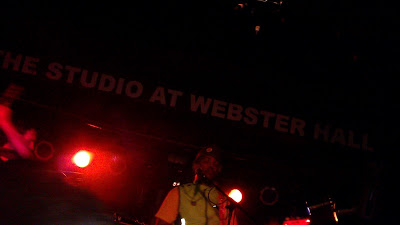 Van Hunt, The Studio at Webster Hall, 09/19/11 (photograph by Kate Harvie)